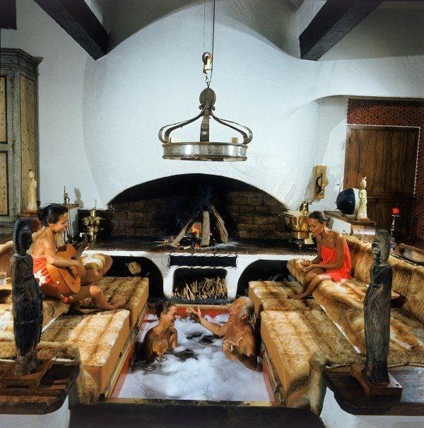 Fireplace Hottub Hybrid