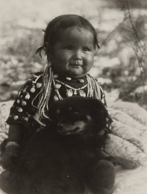 First Nations Crow Child