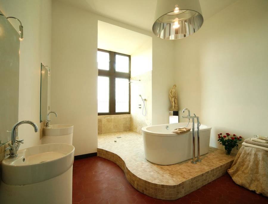 French Castle Bathroom