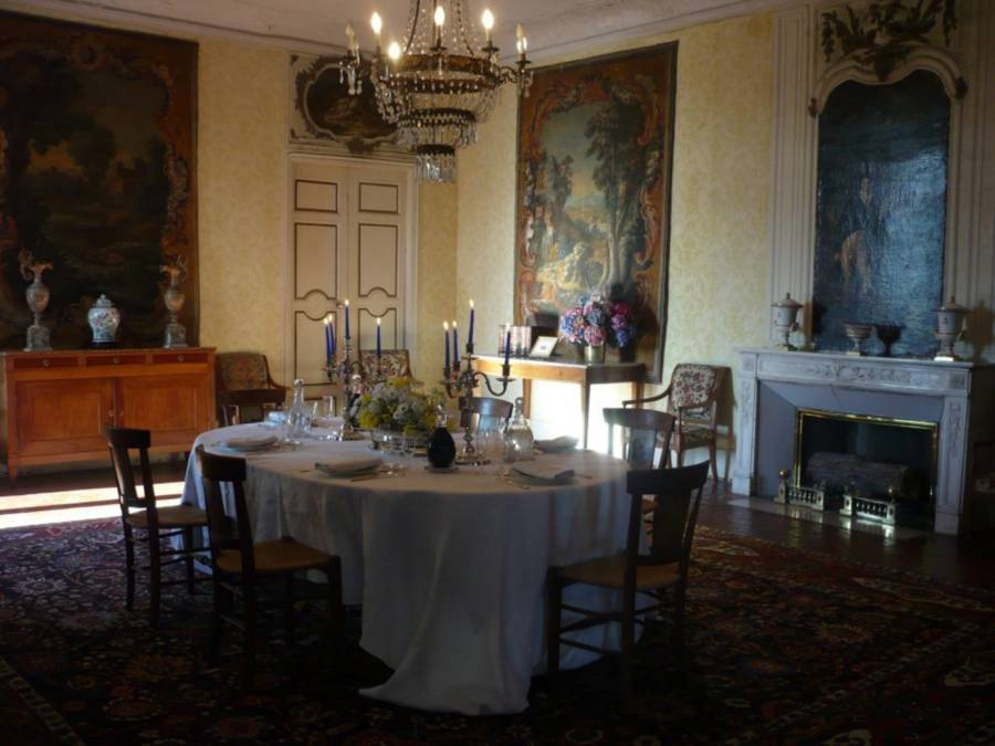 French Castle Dining