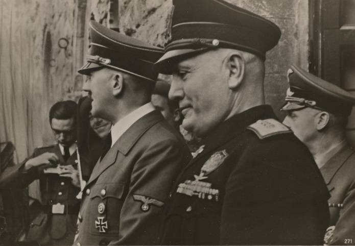 Fuhrer And Duce Florence