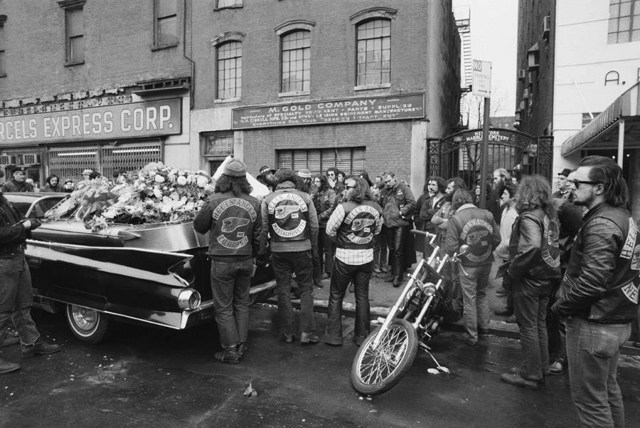 Funeral Biker