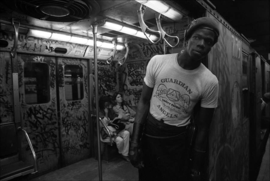 Guardian Angels Subway Car