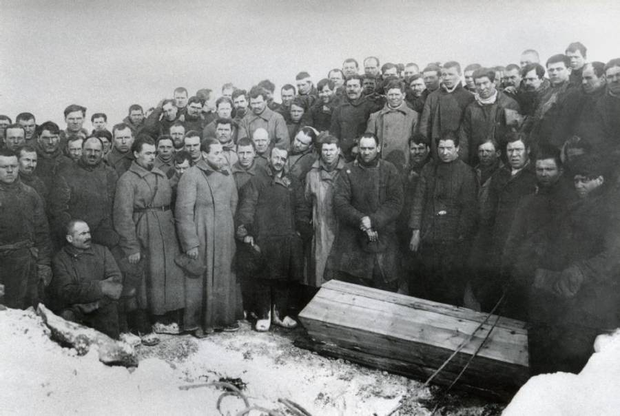 Gulag Miners Grave