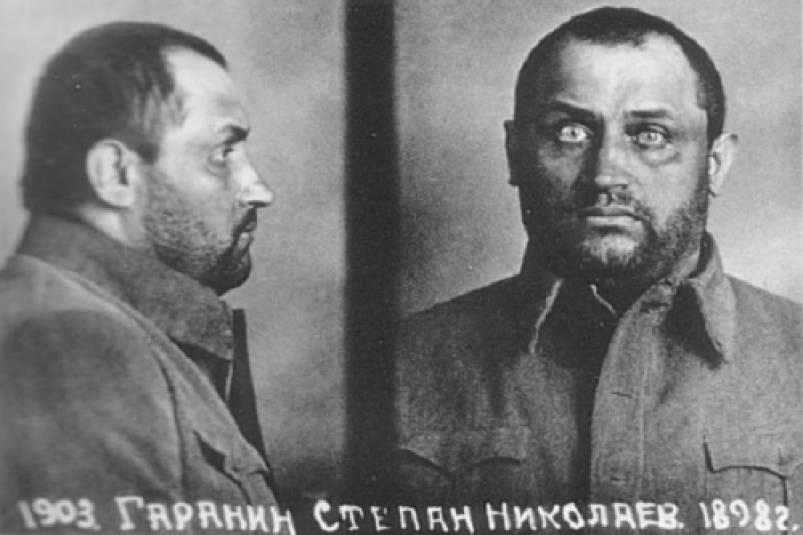 Gulag Prisoner Stepan Garanin