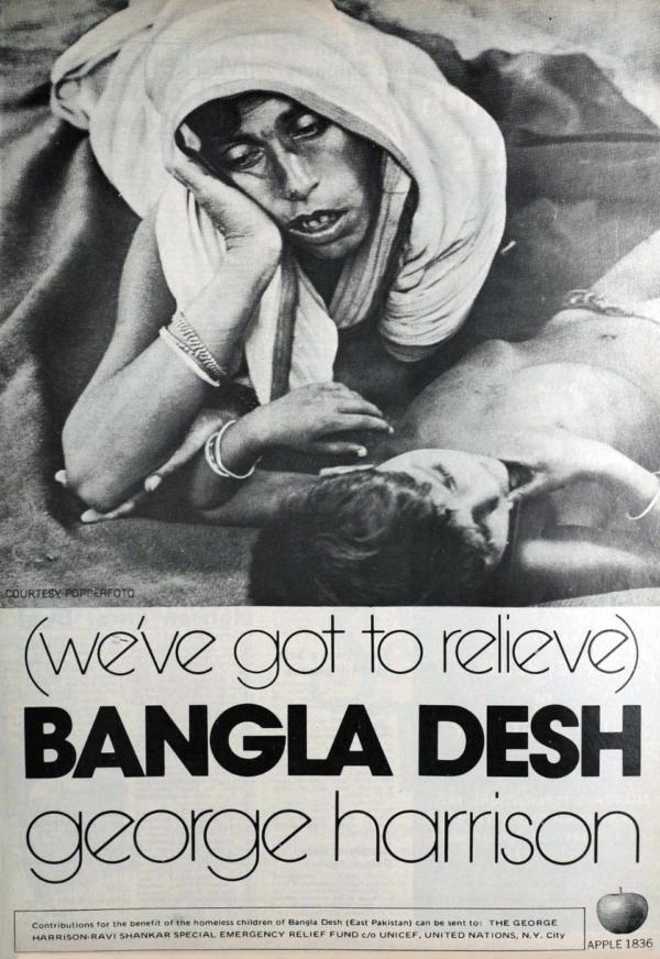 Harrison Bangla Desh Cover