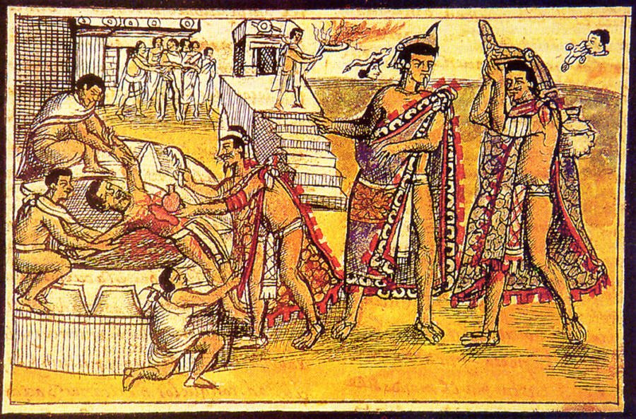 Human Sacrifice In South America