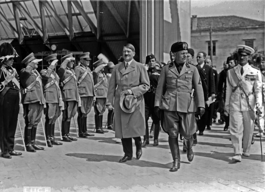 Hitler Visits Venice