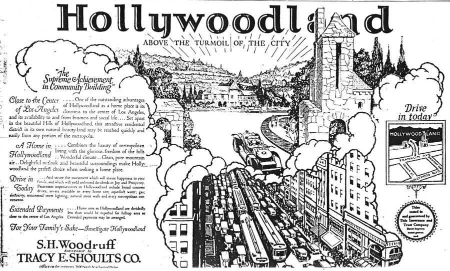 Hollywoodland Advertisement
