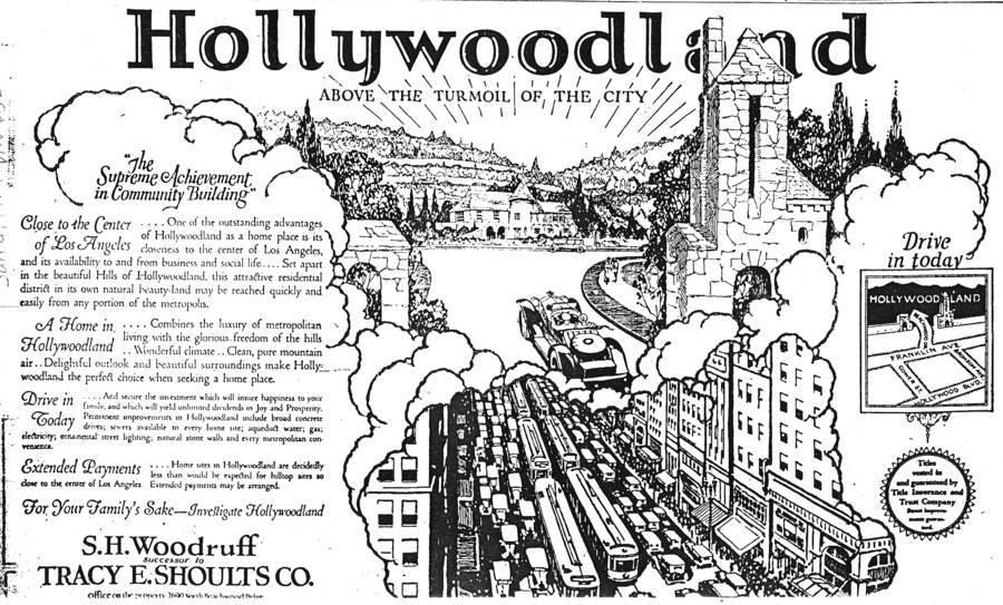 Hollywoodland Advertisement