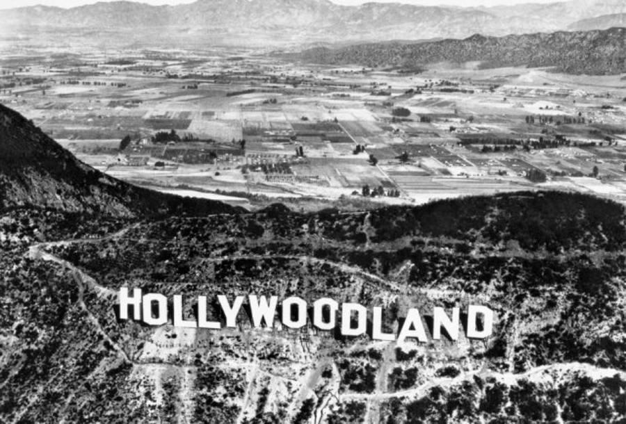 Hollywoodland Sign Hills