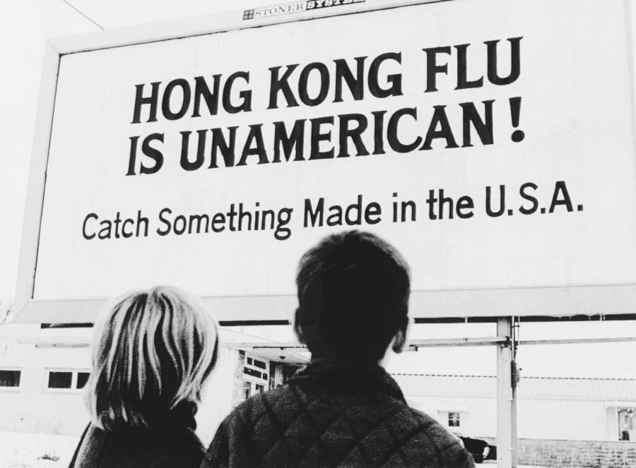 Hong Kong Flu Billboard