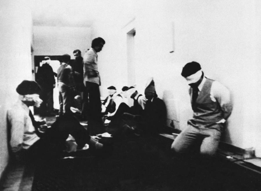 Hostages Blindfolds