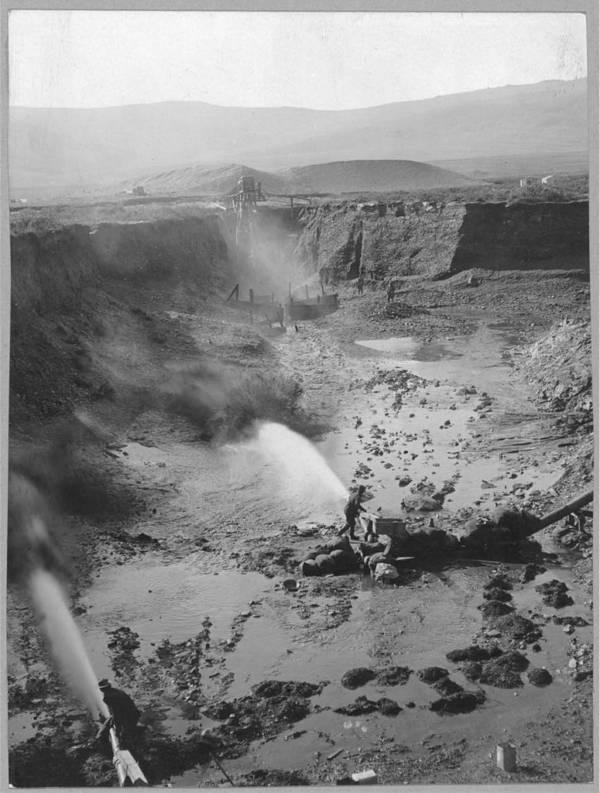 Hydraulic Gold Mining In Alaska