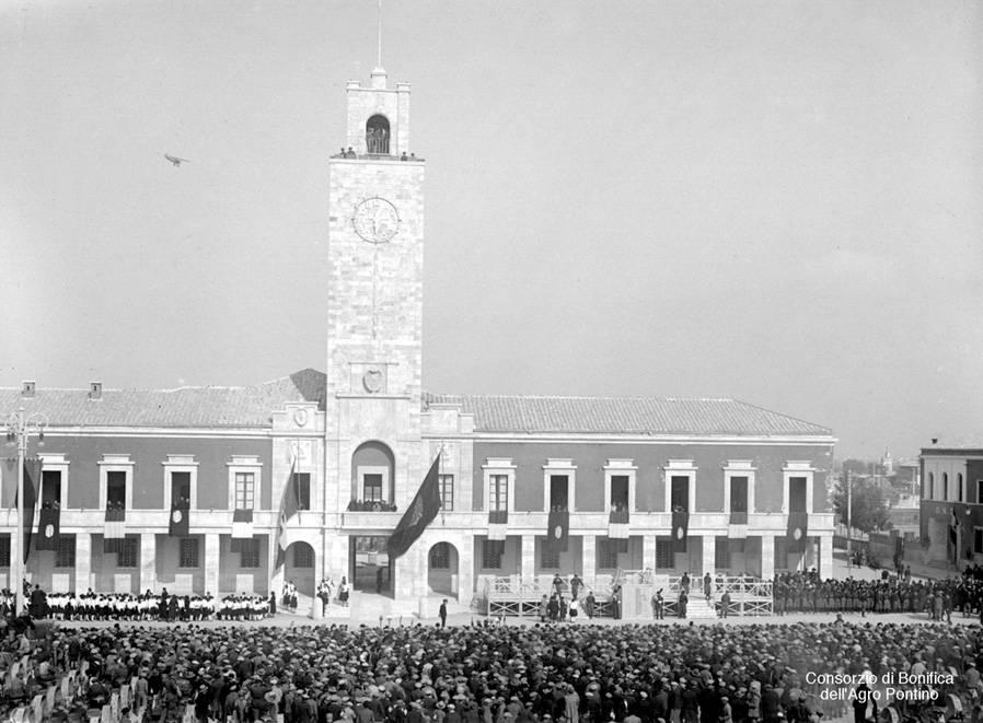 Inauguration Of Littorio
