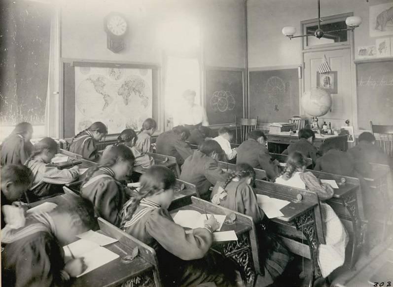 Inside School Classroom
