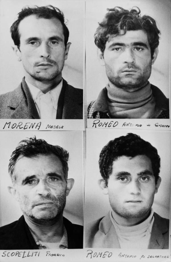 Italian Criminals Mugshots
