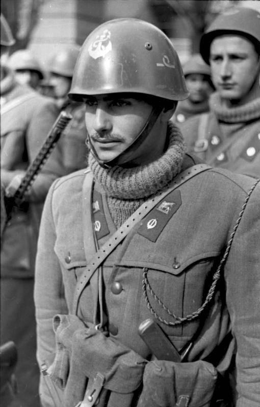 Italian Fascist Sub Lieutenant