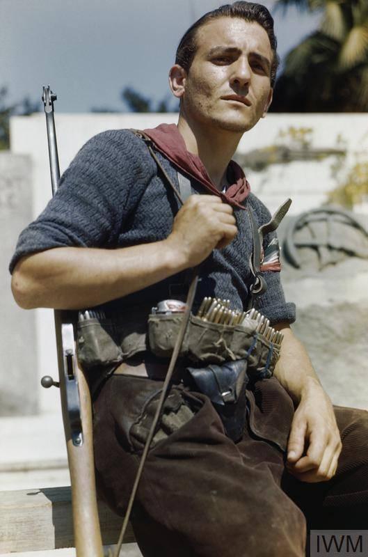 Italian Resistance Member