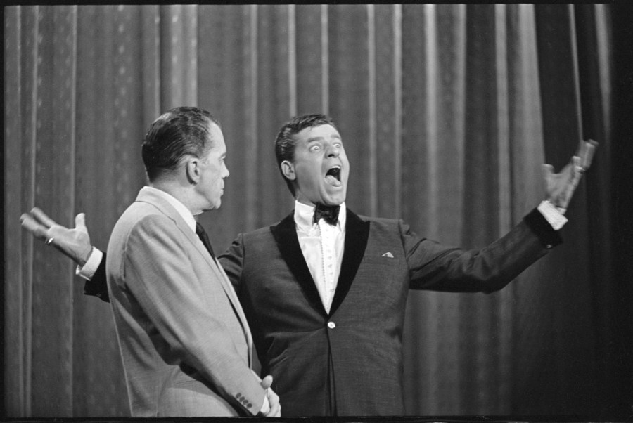 Jerry Lewis With Sullivan