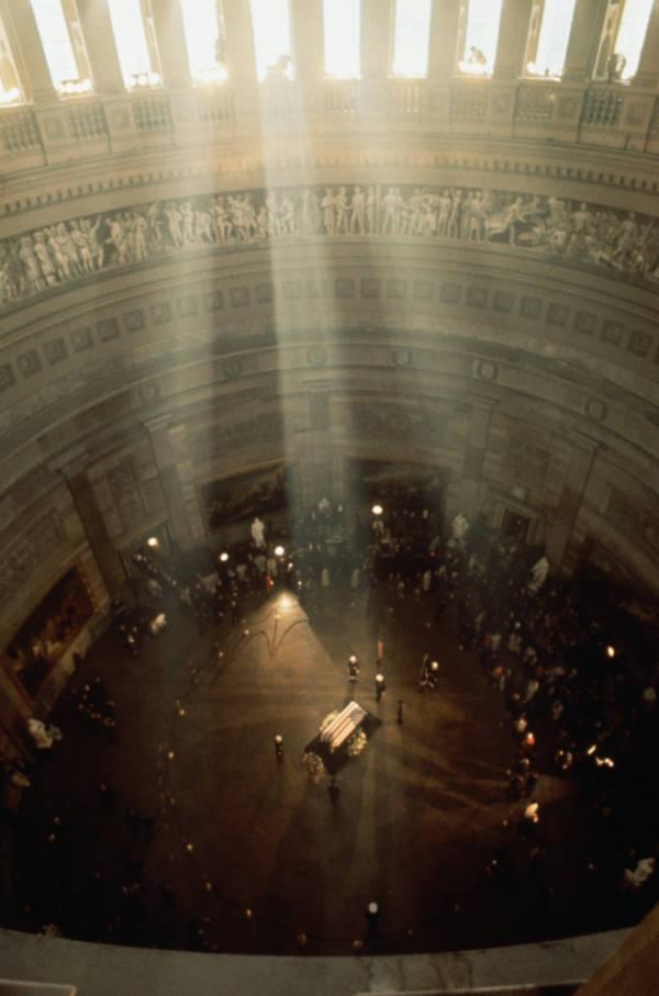 Kennedy Assassination Sunlight Rays