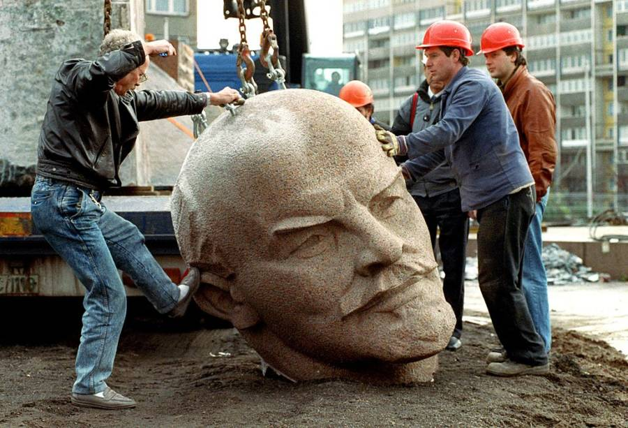 Kicking Lenins Head
