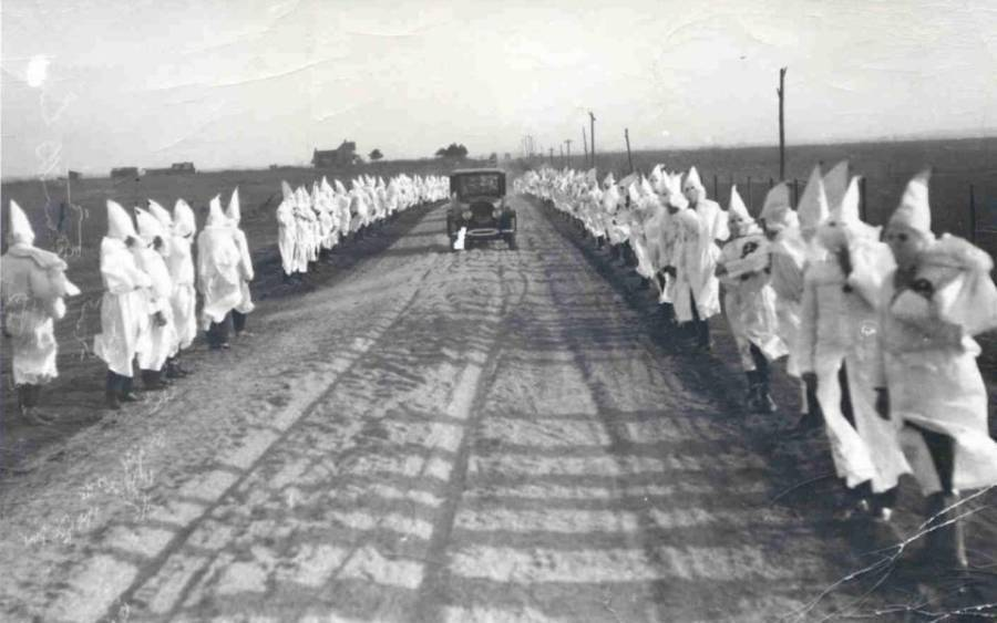Kkk Rally Near Tulsa