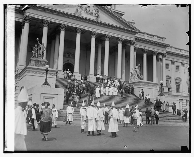 Klansmen At The Capitol