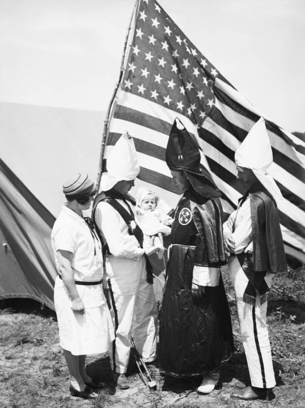 Ku Klux Klan Baptism