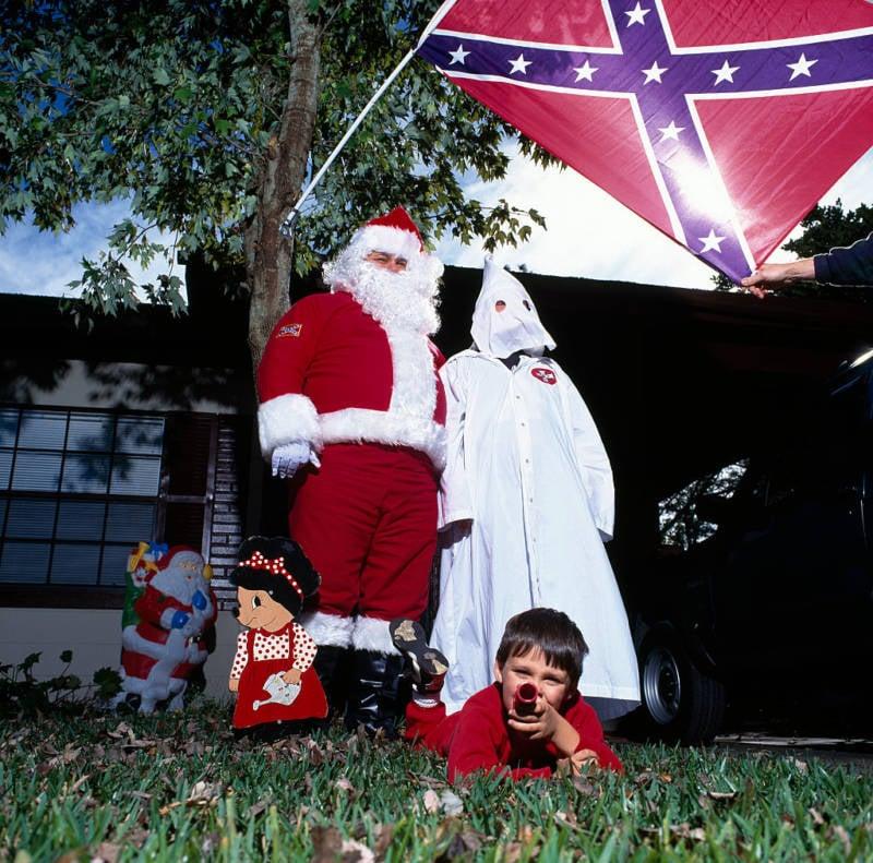 Ku Klux Klan Santa