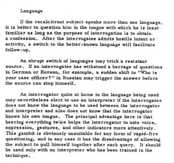 Kubark Language
