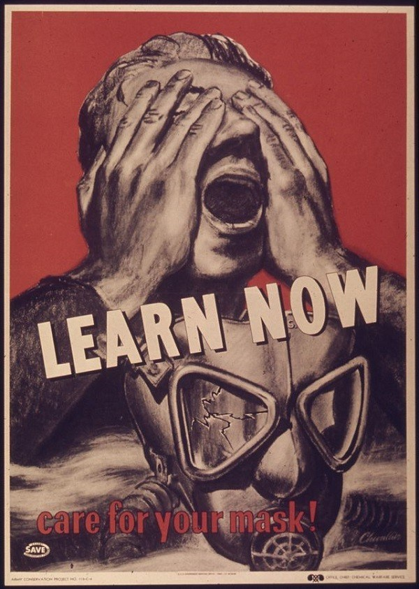 Learn Now To Care Gas Mask