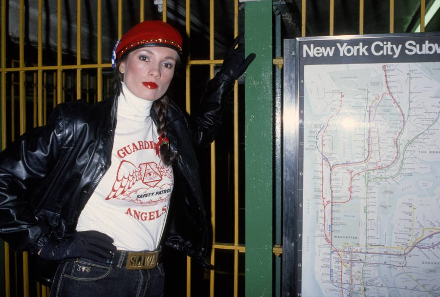 Lisa Sliwa Subway Map