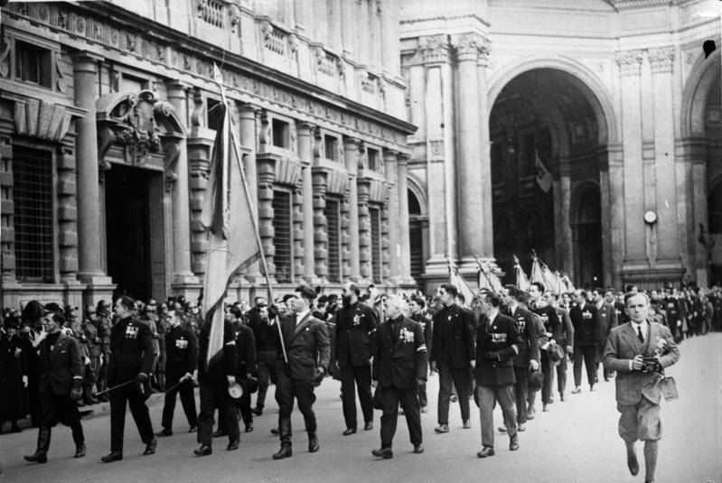 fascism under mussolini in italy The contrasting image of italian women under  the term 'fascism' orginated with mussolini in 1919 as a mass movement, fascism first emerged out of, and as a .