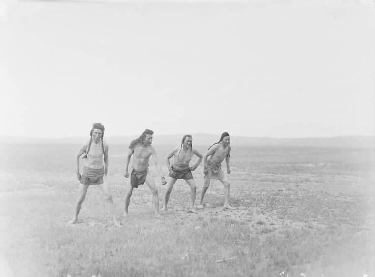 Men In Breech Cloths
