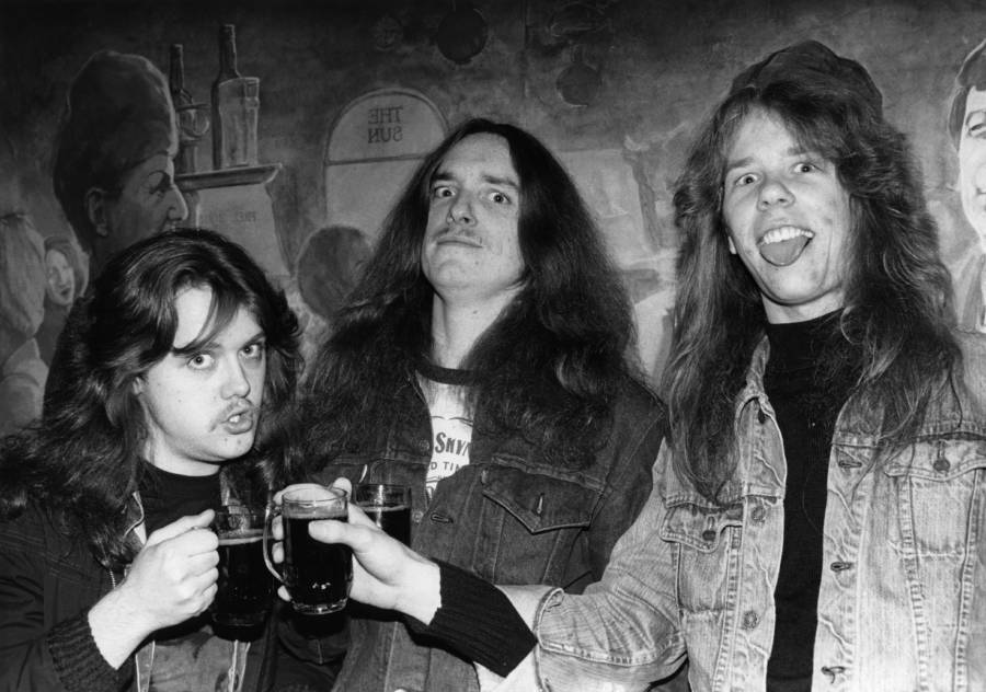 Metallica In The Early 1980s