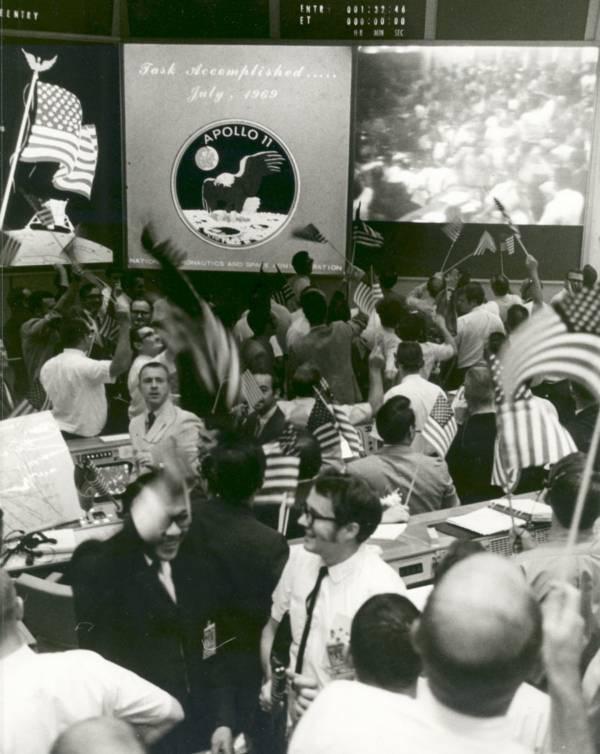 Mission Control Celebration