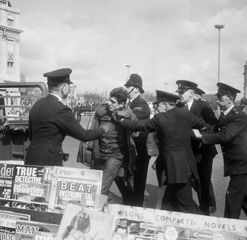 Mod Arrested In Brighton
