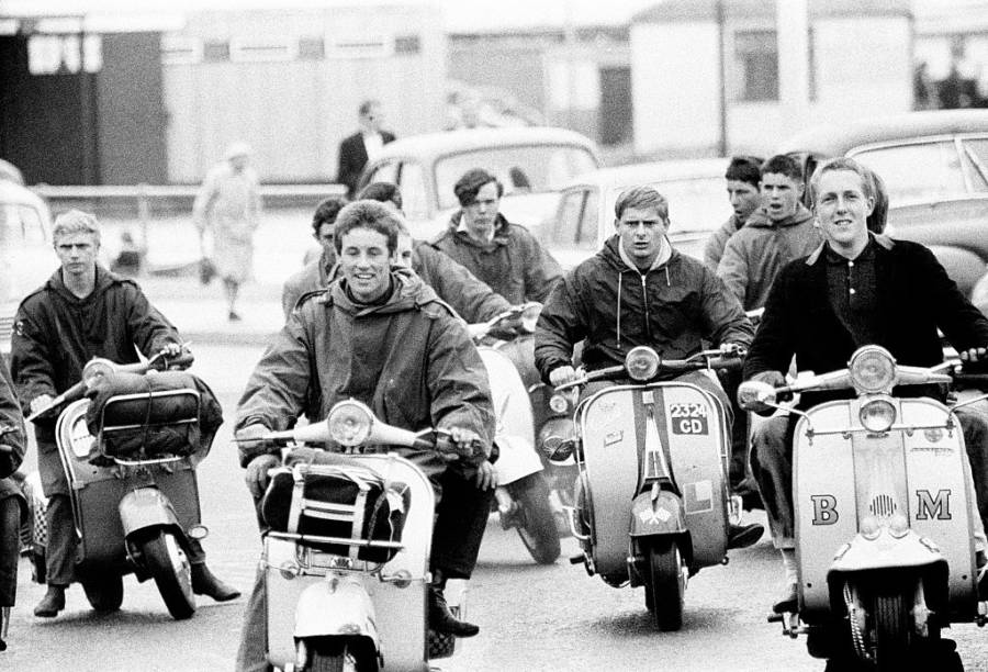 Mods On Scooters