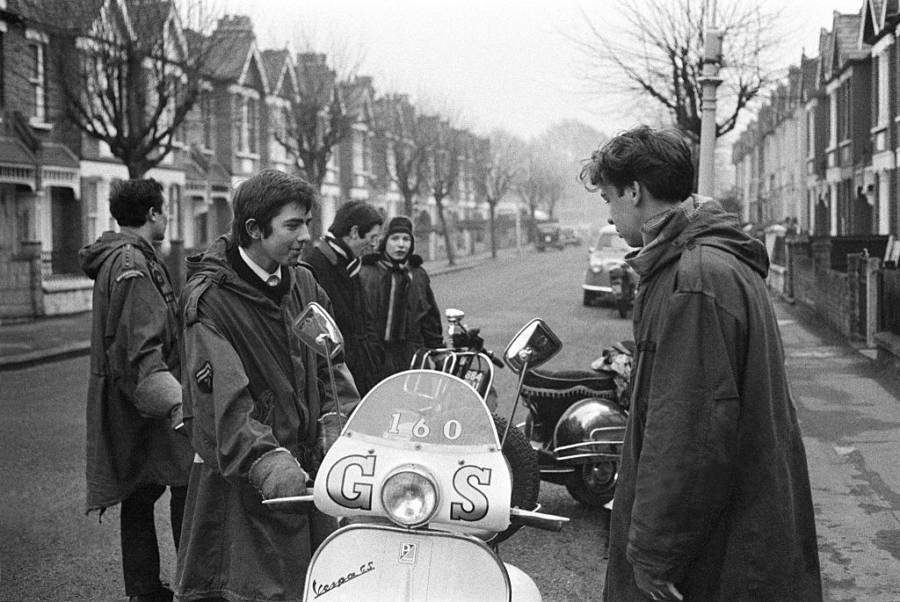 Mods Parkas And Vespas