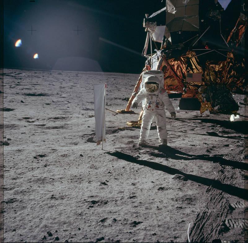 Moon Landing Buzz Aldrin