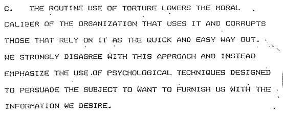 Morality Cia Torture