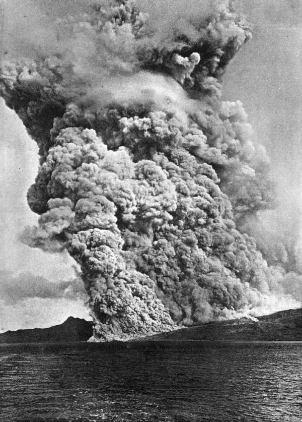 Mount Pelee Eruption