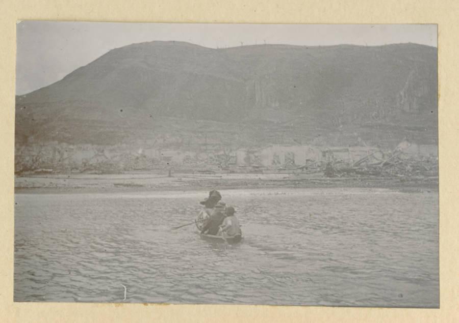 Mt Pelee Boat