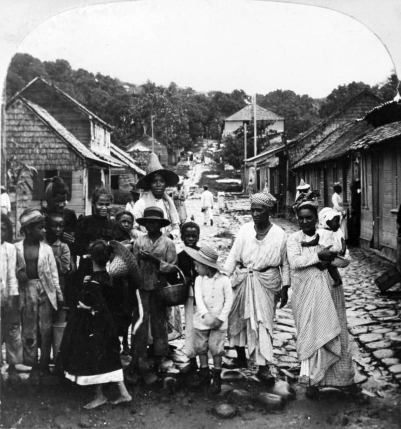 Mt Pelee Refugees Street