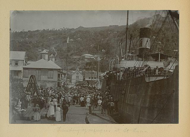 Mt Pelee Refugees