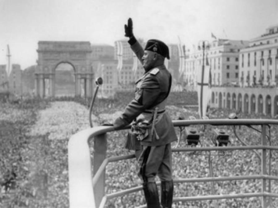 Mussolini Takes Rome