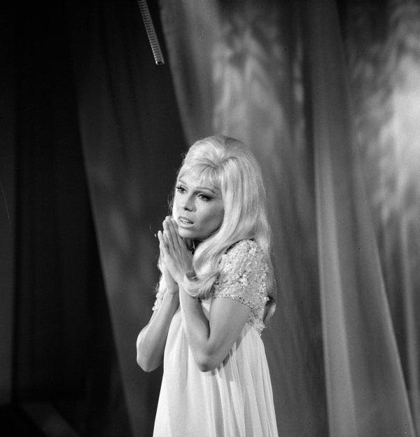 Nancy Sinatra Prayer Hands