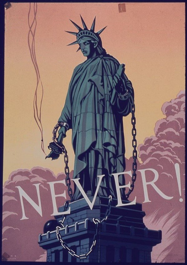 Never Statue Of Liberty