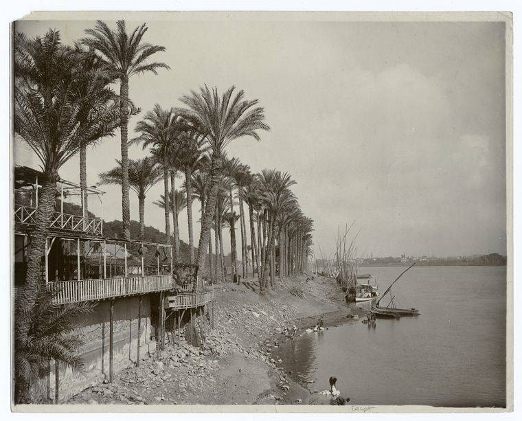 Nile Bridge Egypt